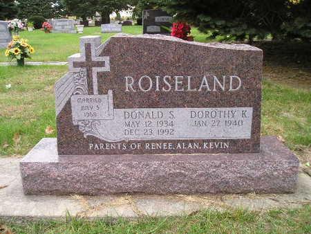 ROISELAND, DOROTHY K - Bremer County, Iowa | DOROTHY K ROISELAND