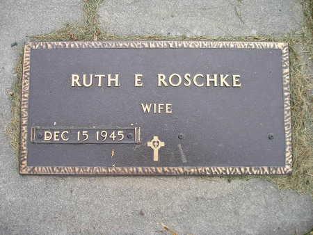 ROSCHKE, RUTH E - Bremer County, Iowa | RUTH E ROSCHKE
