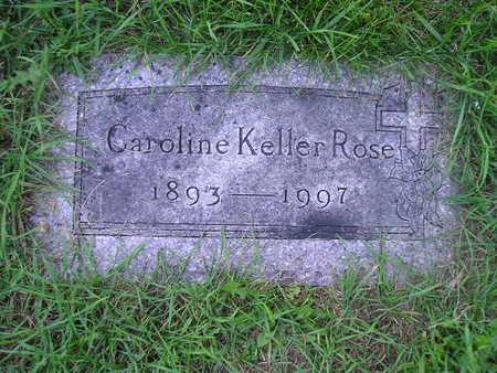 KELLER ROSE, CAROLINE - Bremer County, Iowa | CAROLINE KELLER ROSE