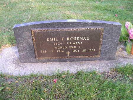 ROSENAU, EMIL F - Bremer County, Iowa | EMIL F ROSENAU