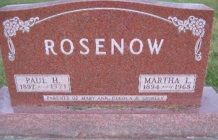 ROSENOW, MARTHA L - Bremer County, Iowa | MARTHA L ROSENOW