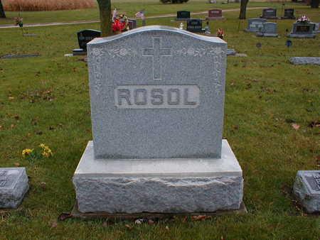 ROSOL, FAMILY - Bremer County, Iowa | FAMILY ROSOL