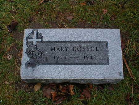 ROSSOL, MARY - Bremer County, Iowa   MARY ROSSOL