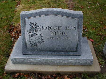 ROSSOL, MARGARET HELEN - Bremer County, Iowa   MARGARET HELEN ROSSOL