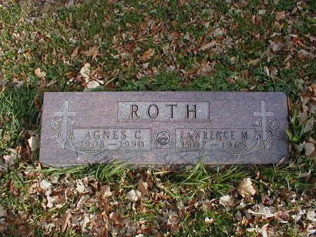 ROTH, AGNES C - Bremer County, Iowa | AGNES C ROTH