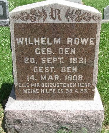 ROWE, WILHELM - Bremer County, Iowa | WILHELM ROWE