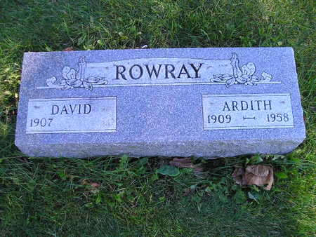 ROWRAY, DAVID - Bremer County, Iowa | DAVID ROWRAY
