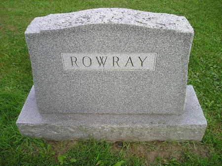 ROWRAY, FAMILY - Bremer County, Iowa | FAMILY ROWRAY