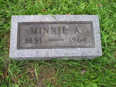 ROWRAY, MINNIE A - Bremer County, Iowa | MINNIE A ROWRAY