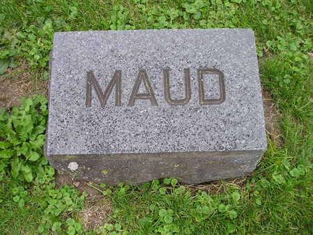 RUDDICK, MAUD - Bremer County, Iowa | MAUD RUDDICK