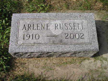 RUSSELL, ARLENE - Bremer County, Iowa | ARLENE RUSSELL