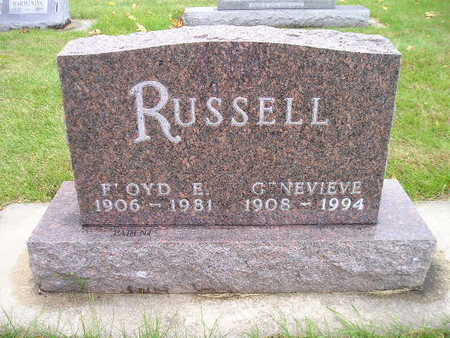 RUSSELL, FLOYD E - Bremer County, Iowa | FLOYD E RUSSELL