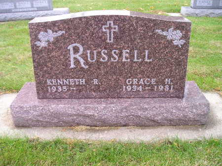 RUSSELL, GRACE H - Bremer County, Iowa | GRACE H RUSSELL
