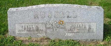 RUSSELL, PYRLE A - Bremer County, Iowa | PYRLE A RUSSELL