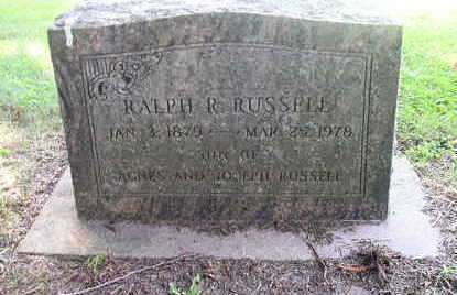 RUSSELL, RALPH R. - Bremer County, Iowa | RALPH R. RUSSELL