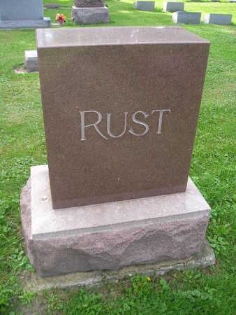RUST, FAMILY - Bremer County, Iowa | FAMILY RUST