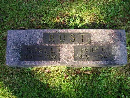 RUST, EMILY G - Bremer County, Iowa | EMILY G RUST