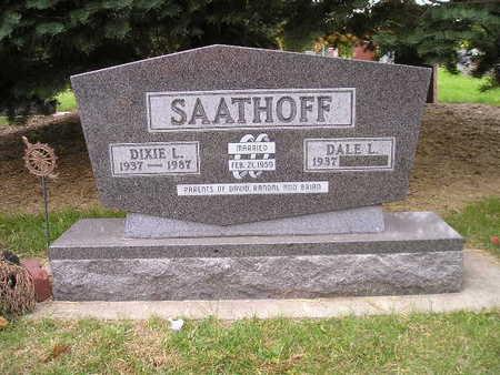 SAATHOFF, DIXIE L - Bremer County, Iowa   DIXIE L SAATHOFF