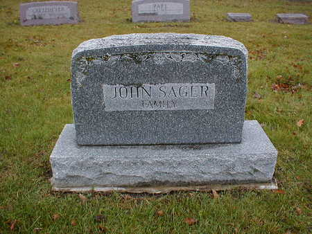 SAGER, JOHN FAMILY - Bremer County, Iowa | JOHN FAMILY SAGER