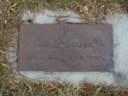 SAGER, NORA C - Bremer County, Iowa | NORA C SAGER