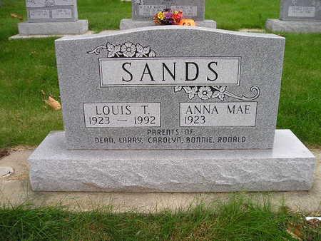 SANDS, ANNA MAE - Bremer County, Iowa | ANNA MAE SANDS