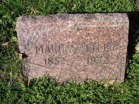 SATTLER, MARIE - Bremer County, Iowa   MARIE SATTLER