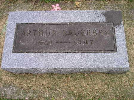 SAUERBRY, ARTHUR - Bremer County, Iowa | ARTHUR SAUERBRY