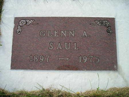 SAUL, GLENN A - Bremer County, Iowa   GLENN A SAUL