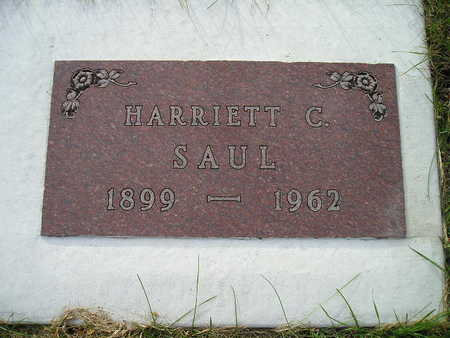 SAUL, HARRIETT C - Bremer County, Iowa | HARRIETT C SAUL