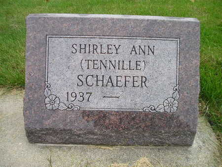 TENNILLE SCHAEFER, SHIRLEY ANN - Bremer County, Iowa | SHIRLEY ANN TENNILLE SCHAEFER