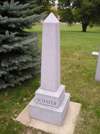 SCHAFER, CHARLES M - Bremer County, Iowa | CHARLES M SCHAFER
