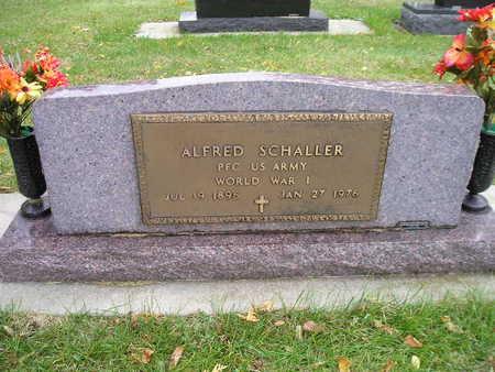 SCHALLER, ALFRED - Bremer County, Iowa | ALFRED SCHALLER