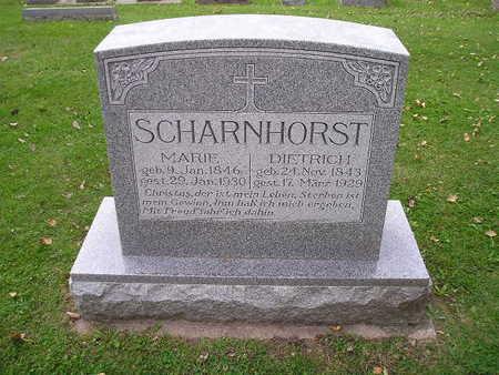 SCHARNHORST, DIETRICH - Bremer County, Iowa | DIETRICH SCHARNHORST