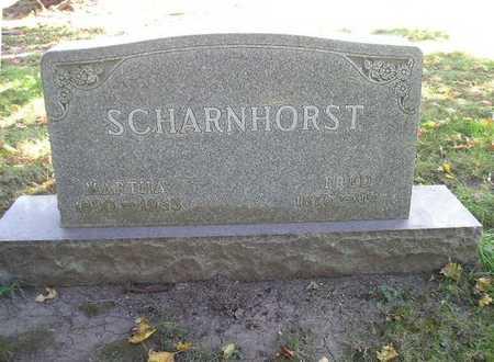 SCHARNHORST, MARTHA - Bremer County, Iowa | MARTHA SCHARNHORST