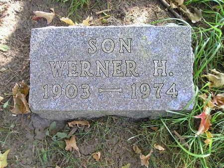 SCHARNHORST, WERNER H - Bremer County, Iowa | WERNER H SCHARNHORST