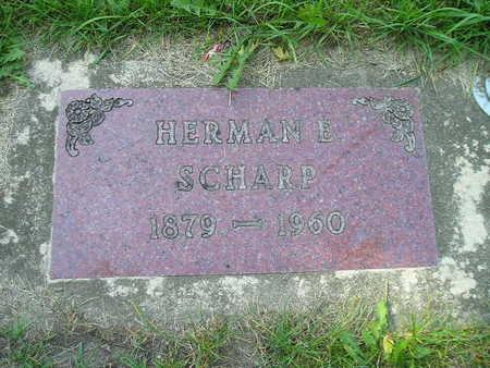 SCHARP, HERMAN E - Bremer County, Iowa | HERMAN E SCHARP