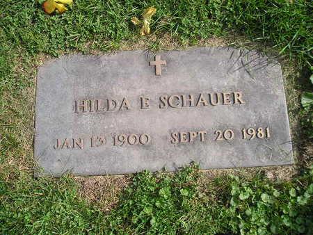 SCHAUER, HILDA E - Bremer County, Iowa | HILDA E SCHAUER