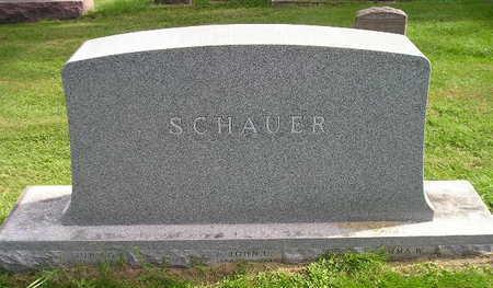 SCHAUER, JOHN G - Bremer County, Iowa | JOHN G SCHAUER