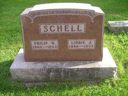 SCHELL, LIBBIE A - Bremer County, Iowa | LIBBIE A SCHELL