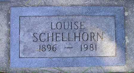 SCHELLHORN, LOUISE - Bremer County, Iowa   LOUISE SCHELLHORN