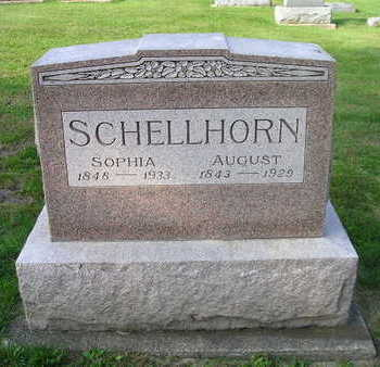 SCHELLHORN, AUGUST - Bremer County, Iowa | AUGUST SCHELLHORN