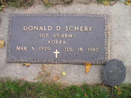 SCHERF, DONALD D - Bremer County, Iowa | DONALD D SCHERF