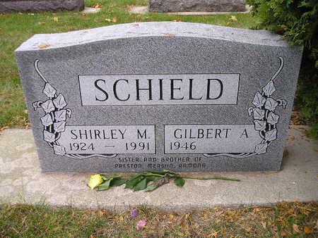 SCHIELD, GILBERT A - Bremer County, Iowa | GILBERT A SCHIELD