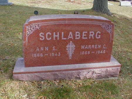 SCHLABERG, WARREN C - Bremer County, Iowa | WARREN C SCHLABERG