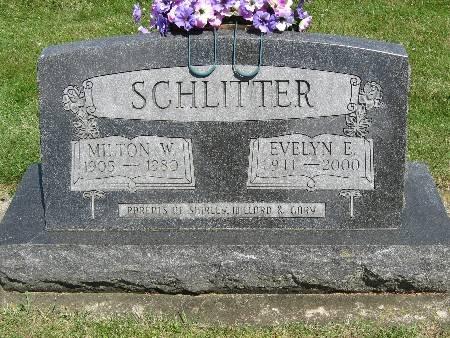 SCHLITTER, EVELYN E. - Bremer County, Iowa | EVELYN E. SCHLITTER