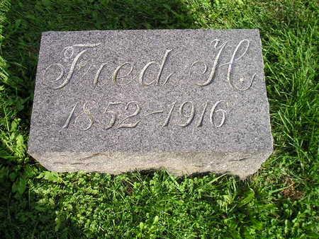 SCHLUTSMEYER, FRED H - Bremer County, Iowa | FRED H SCHLUTSMEYER