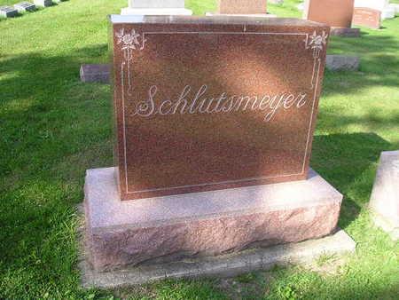 SCHLUTSMEYER, HENRY C - Bremer County, Iowa | HENRY C SCHLUTSMEYER