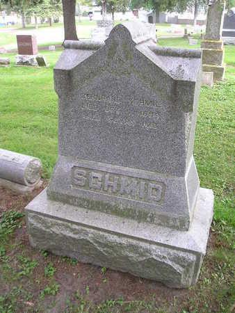 SCHMID, BERNHARD - Bremer County, Iowa | BERNHARD SCHMID