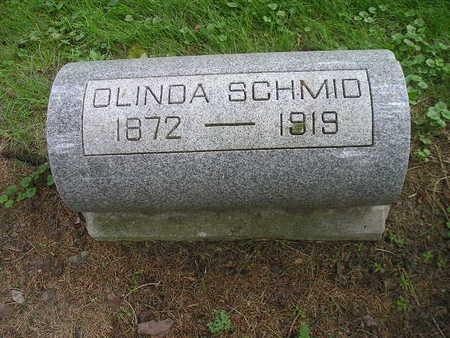 SCHMID, OLINDA - Bremer County, Iowa   OLINDA SCHMID