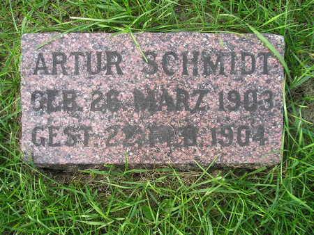 SCHMIDT, ARTHUR - Bremer County, Iowa   ARTHUR SCHMIDT